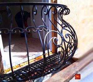 фото французского кованого балкона Тульская область