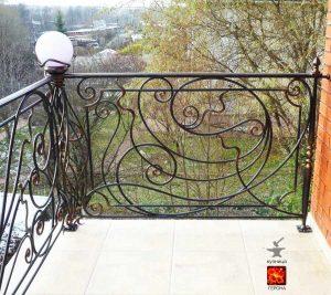 кованый балкон Подмосковье