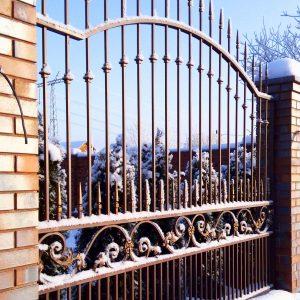 кованый забор Москва